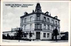 Postcard Schleswig an der Schlei, Variete Ballhaus Hohenzollern, Th. Lüth, Moltkestr.