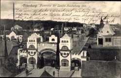 Postcard Oldenburg in Niedersachsen, Panorama der Landesausstellung 1905