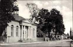 Postcard Gräfenhainichen im Kreis Wittenberg, Blick auf Paul Gerhardt Kapelle