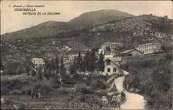 Postcard Cercedilla Madrid, Hoteles de la Colonia, Unterkunftshäuser