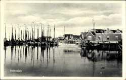 Postcard Edam Volendam Nordholland, Fischerboote im Hafen