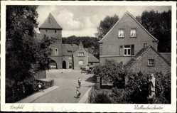 Postcard Coesfeld im Münsterland, Blick auf das Walkenbrückertor, Straßenpartie