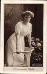 Ak Kronprinzessin Cecilie von Preußen, NPG 4380, Portrait