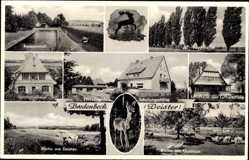 Postcard Bredenbeck Wennigsen an der Deister, Schulungsstätte, Gusteich, Pappelallee