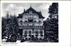 Postcard Bad Pyrmont in Niedersachsen, Kurpension Hoffschildt