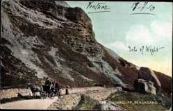 Postcard Blackgang Isle of Wight South East, The Undercliff
