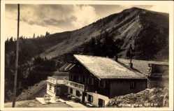 Postcard Rottach Egern im Kreis Miesbach Oberbayern, Waliberghaus