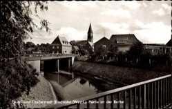 Postcard Stadtlohn im Münsterland, Partie an der Berkel