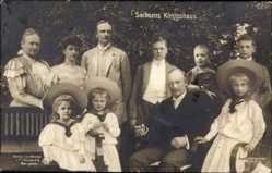 Ak König Friedrich August III. von Sachsen, Königshaus, Kinder