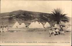 Ak Bir Reinta Tunesien, Campagne 1915 1915, le Fortin et le camp retranche