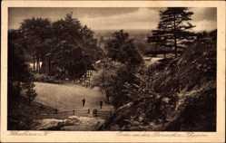 Postcard Ibbenbüren im Tecklenburger Land, Partie an den Dörenther Klippen