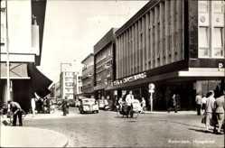 Postcard Rotterdam Südholland Niederlande, Hoogstraat, Einkaufstraße