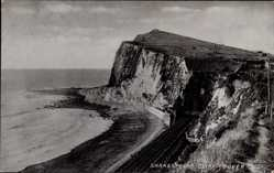 Postcard Dover South East, Tunnel through Shakespeare Cliff