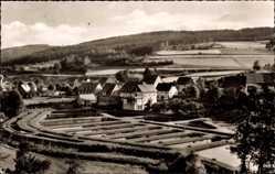 Postcard Albaum Kirchhundem Sauerland, Blick auf Teichanlage der Landesfischanstalt