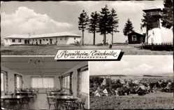 Postcard Teuschnitz in Bayern, Jugenheim im Frankenwald, Speisesaal