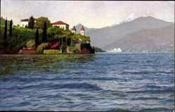 Ak Lago di Como Lombardia, Villa Arconati, Nenke und Ostermeier 196 Nr 3338