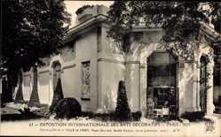 Postcard Paris Frankreich, Exposition des Arts Decoratifs 1925, Pavillon de Paris