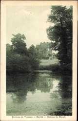 Postcard Gretz Seine et Marne, Environs de Tournan, Château du Mesnil