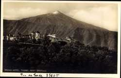 Postcard Port La Orotava Kanarische Inseln, Grand Hotel Taoro, Berg