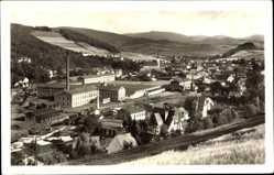 Ak Jeseník Freiwaldau Reg. Olmütz, Arandar, Narodni Podnik, Fabrik