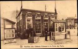 Postcard Conde sur l'Escault Nord, Pavillon des Chassis Clement a Foire de Paris
