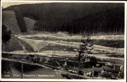 Postcard Osterode in Niedersachsen, Söse Talsperre Badebecken