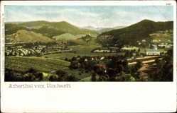 Postcard Achern im Ortenaukreis Baden Württemberg, Panorama vom Ulmhardt