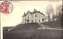 Postcard Ehein Wallonien Lüttich, Vue du Château, Schlossansicht