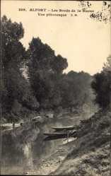 Postcard Maisons Alfort Val de Marne, Bords de la Marne, Vue pittoresque