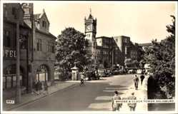 Postcard Salisbury South West, Bridge and Clock Tower, Hotel
