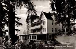 Postcard Bad Sachsa in Niedersachsen, Blick auf das Haus Bismarck, Fassade
