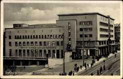 Postcard Essen im Ruhrgebiet Nordrhein Westfalen, Münchener Löwenbräu, Denkmal