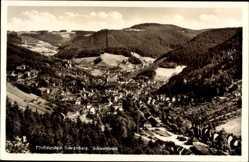 Postcard Schramberg im Schwarzwald, Fünftälerstadt, Blick auf den Ort