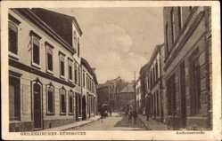 Postcard Hünshoven Geilenkirchen in Nordrhein Westfalen, Aachenerstraße, Fassaden