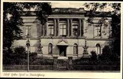 Postcard Braunschweig in Niedersachsen, Blick auf das Adolf Hitler Haus, Einweihung