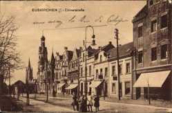 Postcard Euskirchen in Nordrhein Westfalen, Blick in die Kölnerstraße, Geschäfte