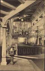 Postcard Bad Lauterberg im Harz, Kirche, Orgel, Architekt Sasse