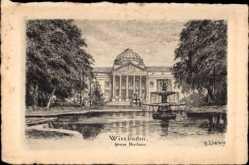 Künstler Ak Liebig, B., Wiesbaden in Hessen, Neues Kurhaus