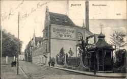 Postcard Rheydt Mönchengladbach in Nordrhein Westfalen, Roonstraße,Badeanstalt Sanitas
