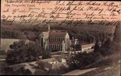 Postcard Altenberg Odenthal Bergisches Land, Blick auf den Dom, Wald