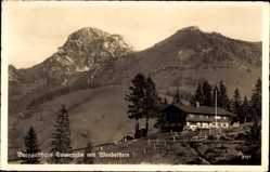 Postcard Bayrischzell im Mangfallgebirge Oberbayern, Berggasthaus Tanneralm, G. Noichl