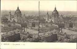 Stereo Ak Berlin Mitte, Blick auf den Berliner Dom, Gebäude, Stadtansicht