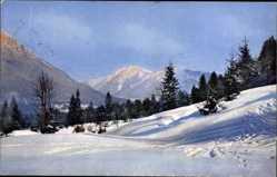 Ak Winter in Bayern, Nenke und Ostermaier 160 2898