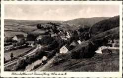 Postcard Tanne Oberharz am Brocken, Höhenluftkurort, Teilansicht