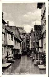 Postcard Wolfenbüttel in Niedersachsen, Klein Venedig, Flusskanal