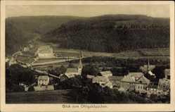 Postcard Schleiden in der Eifel in Nordrhein Westfalen, Blick vom Ohligsköppchen