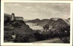 Postcard Kreuzberg Altenahr im Kreis Ahrweiler Rheinland Pfalz, Burg, Ort