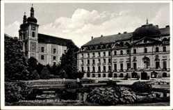 Postcard Donaueschingen im Schwarzwald Baar Kreis, Schloss und Stadtkirche