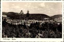 Postcard Möhringen Tuttlingen Baden Württemberg, Blick auf den Ort, Wald