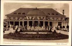 Postcard Travemünde Lübeck Schleswig Holstein, Blick auf den Städtischen Kursaal